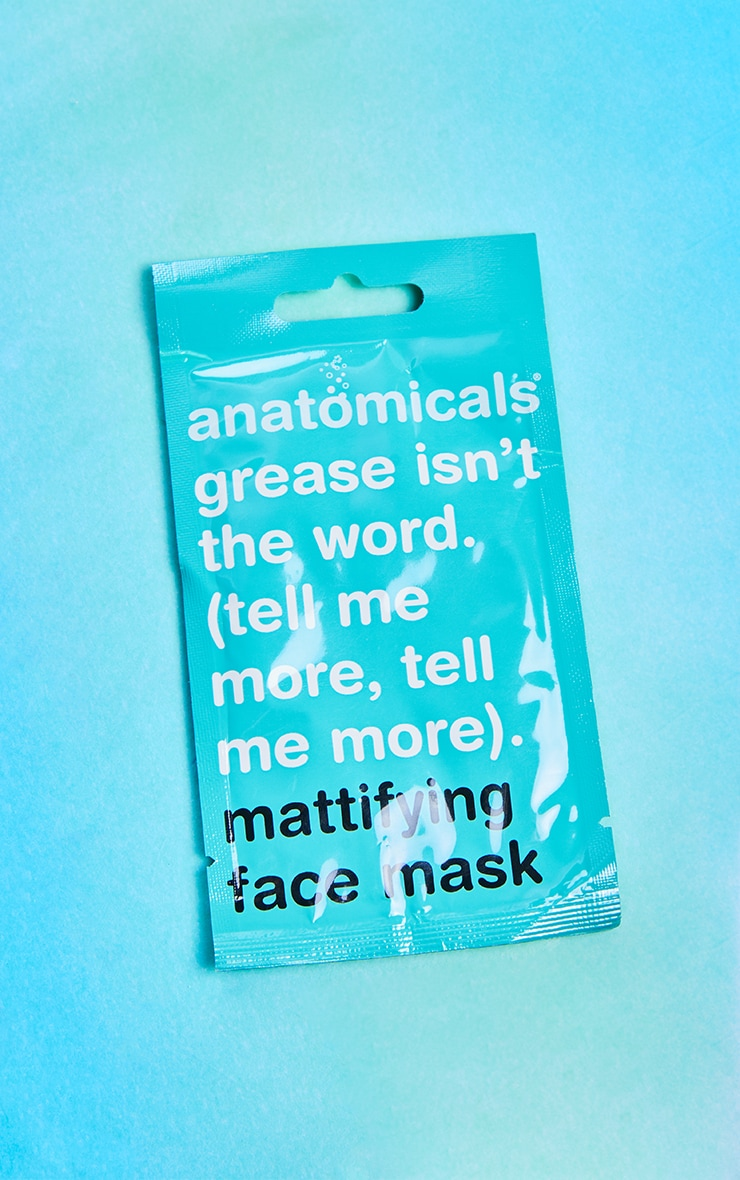 Anatomicals Grease. Is Not The Word. Tell Me More. Tell Me More Face Mask 3
