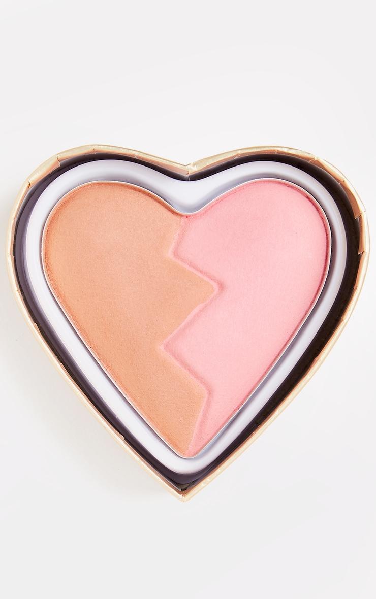 I Heart Revolution Heartbreakers Matte Blush Creative 3