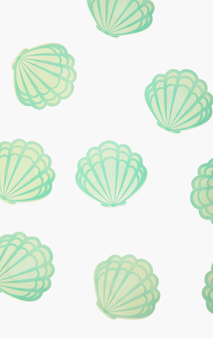 Green Shell Nipple Covers 4