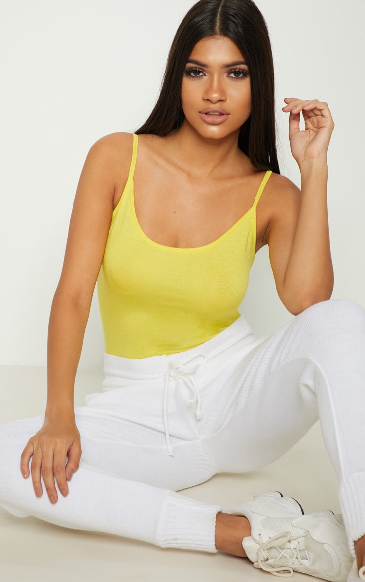 Basic Lemon Bodysuit 1