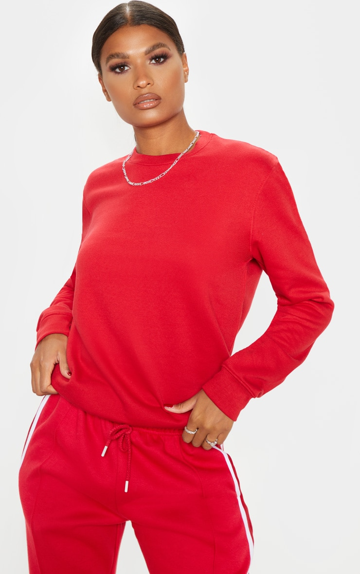 Red Ultimate Sweater 1