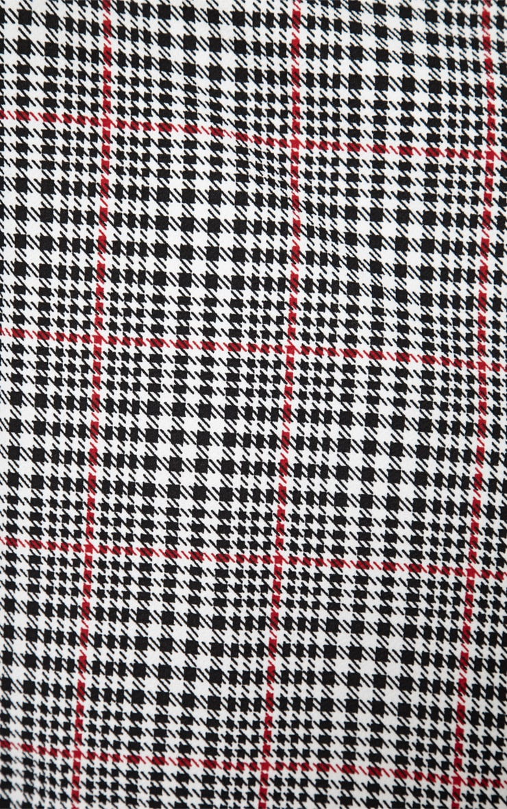 Devon Dogtooth Duster Jacket 6