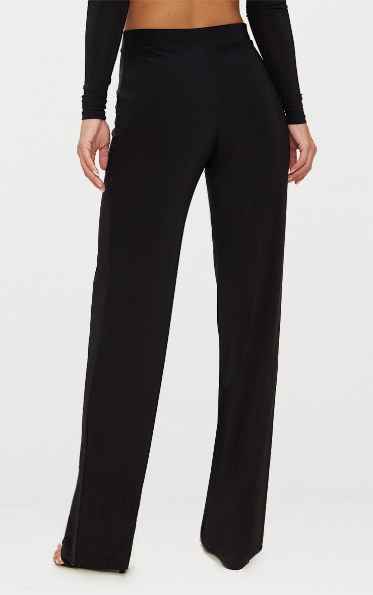 Petite - Pantalon large noir  4