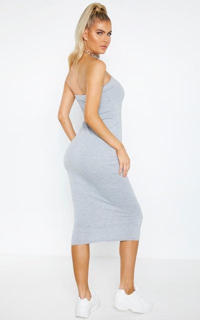 Tall Bandeau Jersey Midi Dress