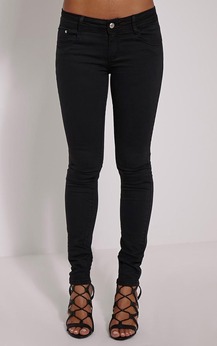Hailey Black Skinny Jean 2