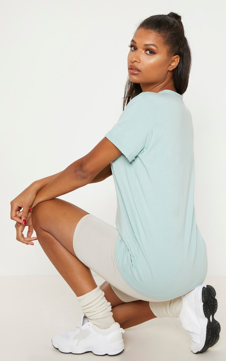 Mint Boyfriend T Shirt  2
