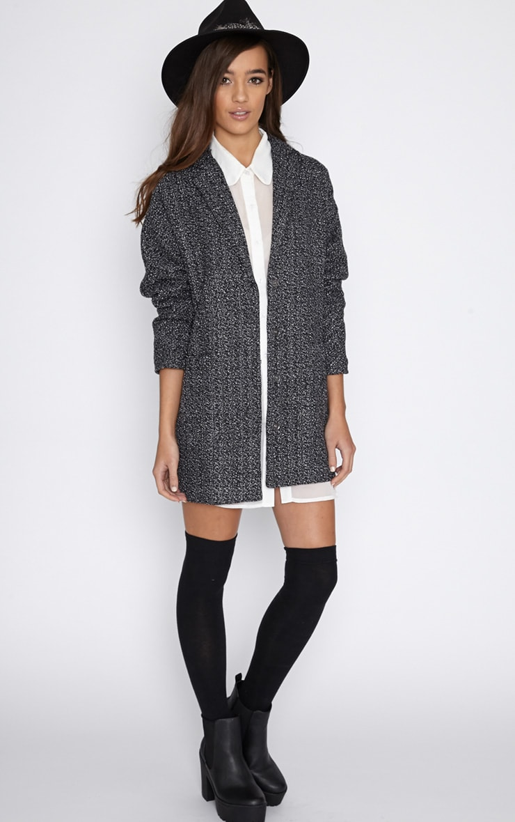 Vivian Grey Flecked Boyfriend Coat  3