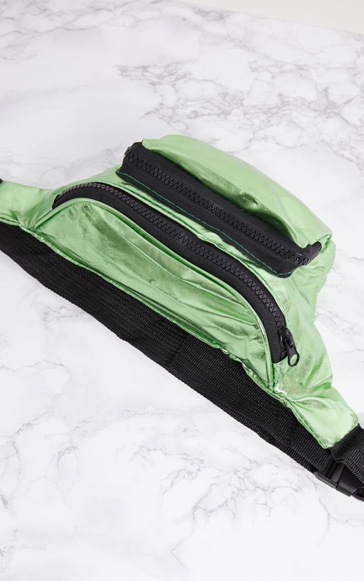 Green Metallic Bum Bag 5