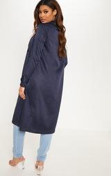 Accueil  Tall - Manteau long oversized bleu marine. Un rappel de  confidentialité de la part de Lire plus Je suis d accord. Previous 21e6975ba48b