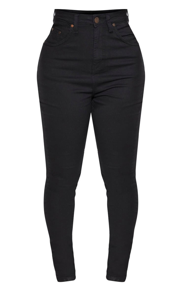Shape Black High Waist Super Stretch Skinny Jeans 3