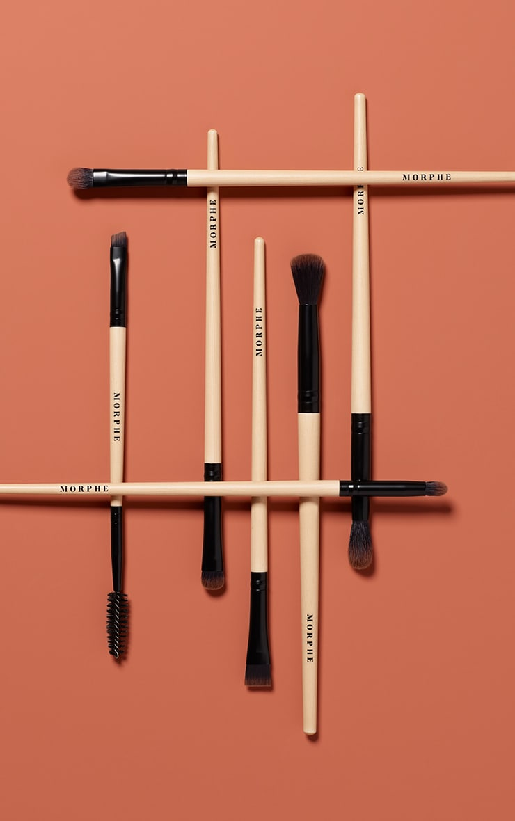 Morphe - lot de 7 pinceaux pour les yeux en bambou Earth to Babe 1
