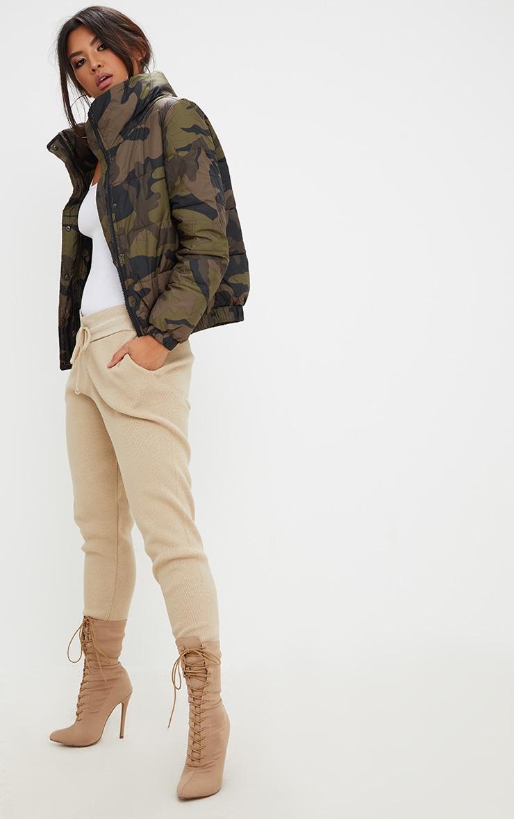 Camouflage Puffer Jacket 1