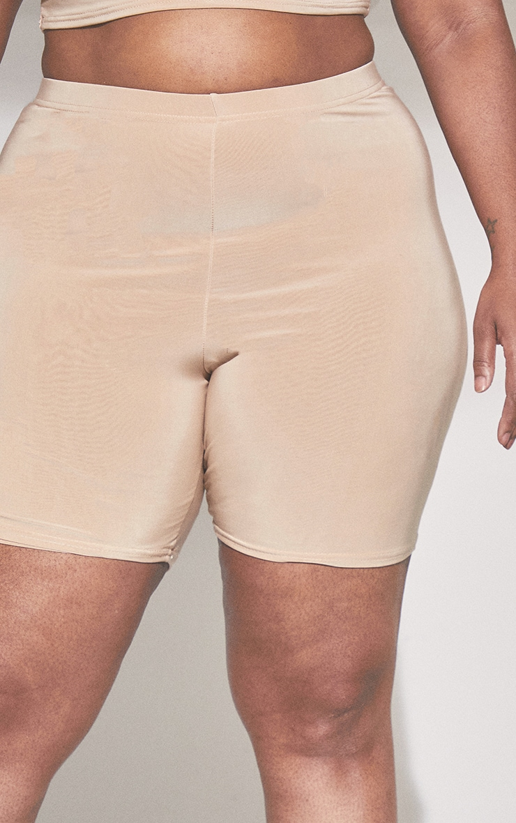 Plus Second Skin Vanilla Cycle Shorts 5
