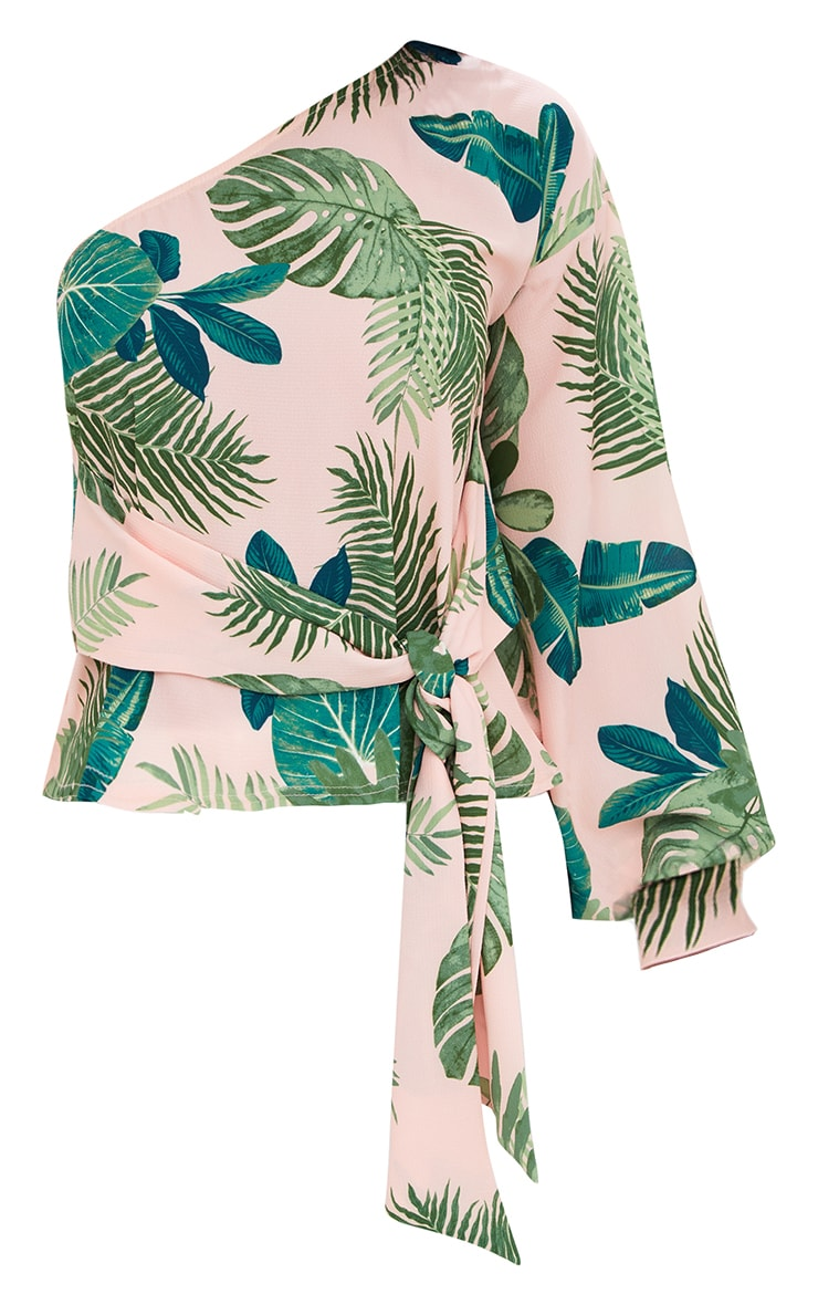Shape Tropical One Shoulder Top 3