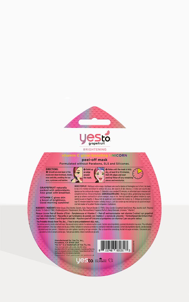 Yes To Grapefruit Vitamin C Unicorn Peel-Off Mask 3