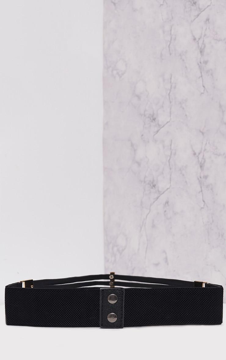 Ilena Black Multi Strap Detail Belt 5