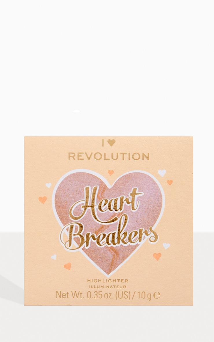 I Heart Revolution Heartbreakers Highlighter Divine 3