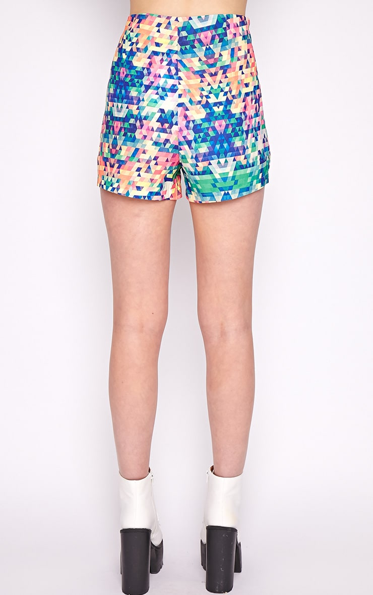 Lacey Multi Print Short  2