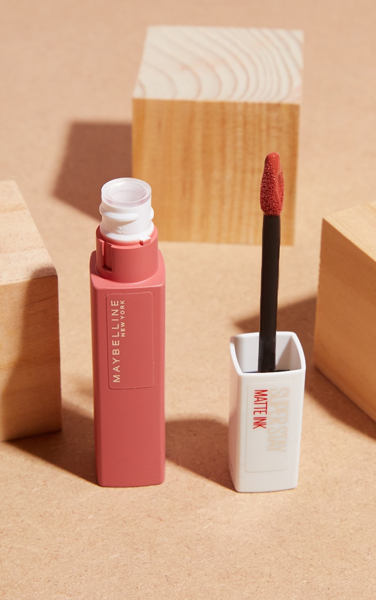 Maybelline Superstay Matte Ink Tan Nude Liquid Lipstick 130 Self Starter 2