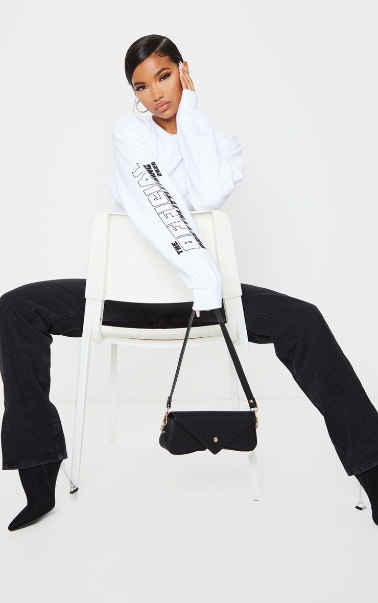 PRETTYLITTLETHING White The Official 2020 Sweat 3
