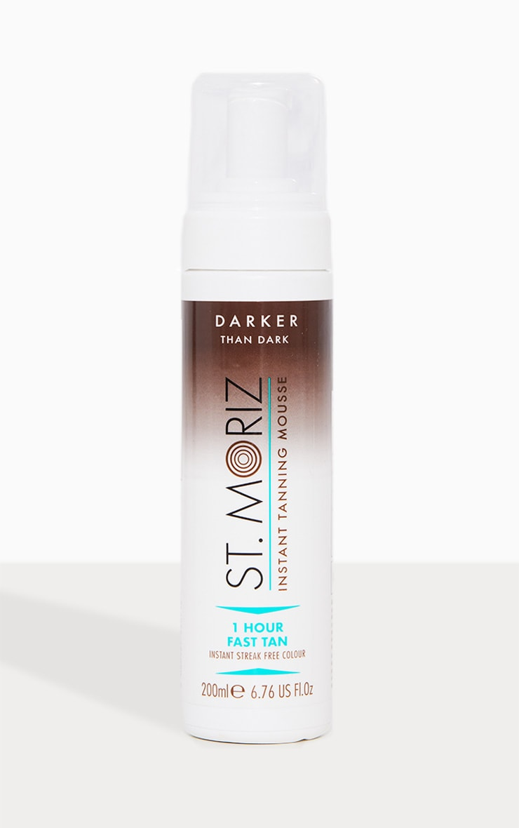 St. Moriz Fast Tan Mousse Darker than Dark 200ml 1