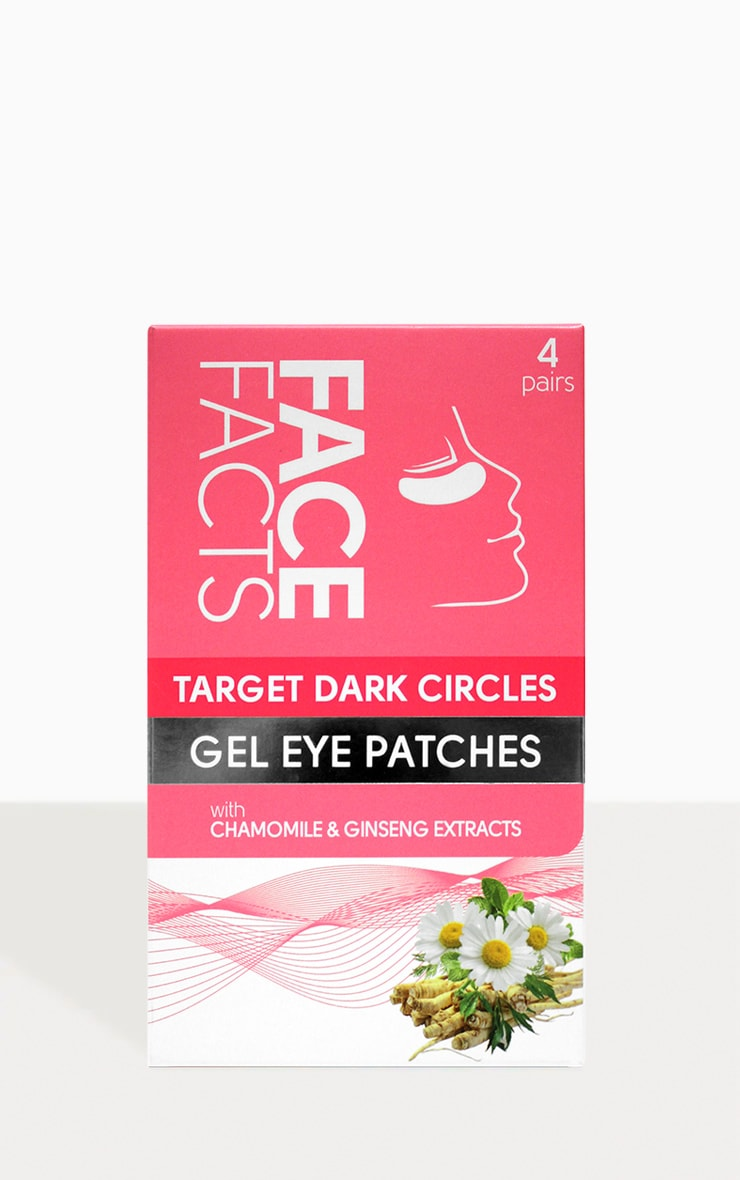Face Facts Four Pack Target Dark Circles Gel Eye Patches 2