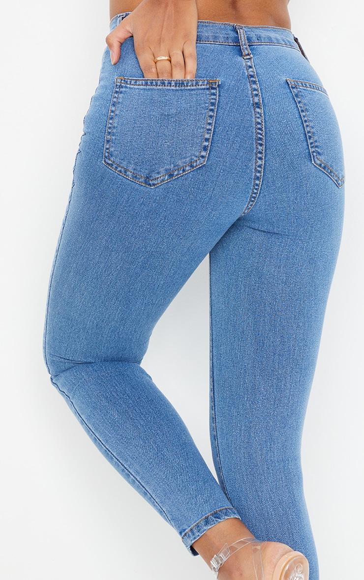 Mid Wash Disco Fit Skinny Jean 4