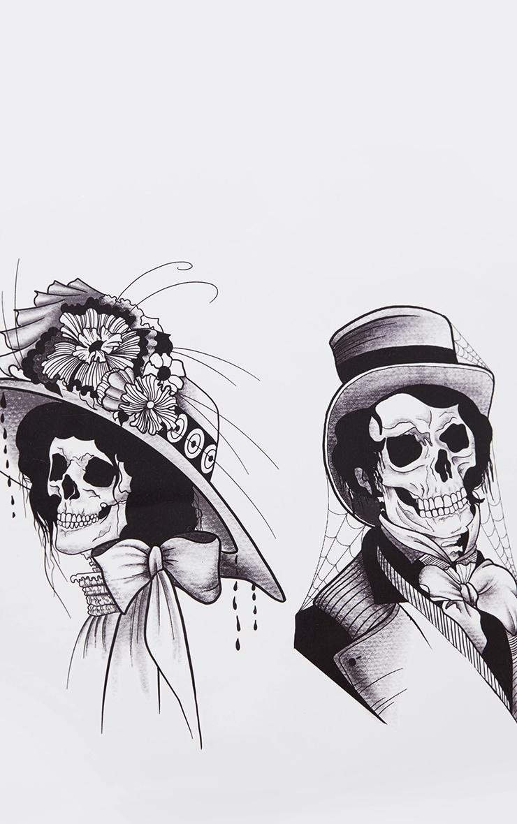 The Gypsy Shrine - Tatouage temporaire crânes Halloween 2