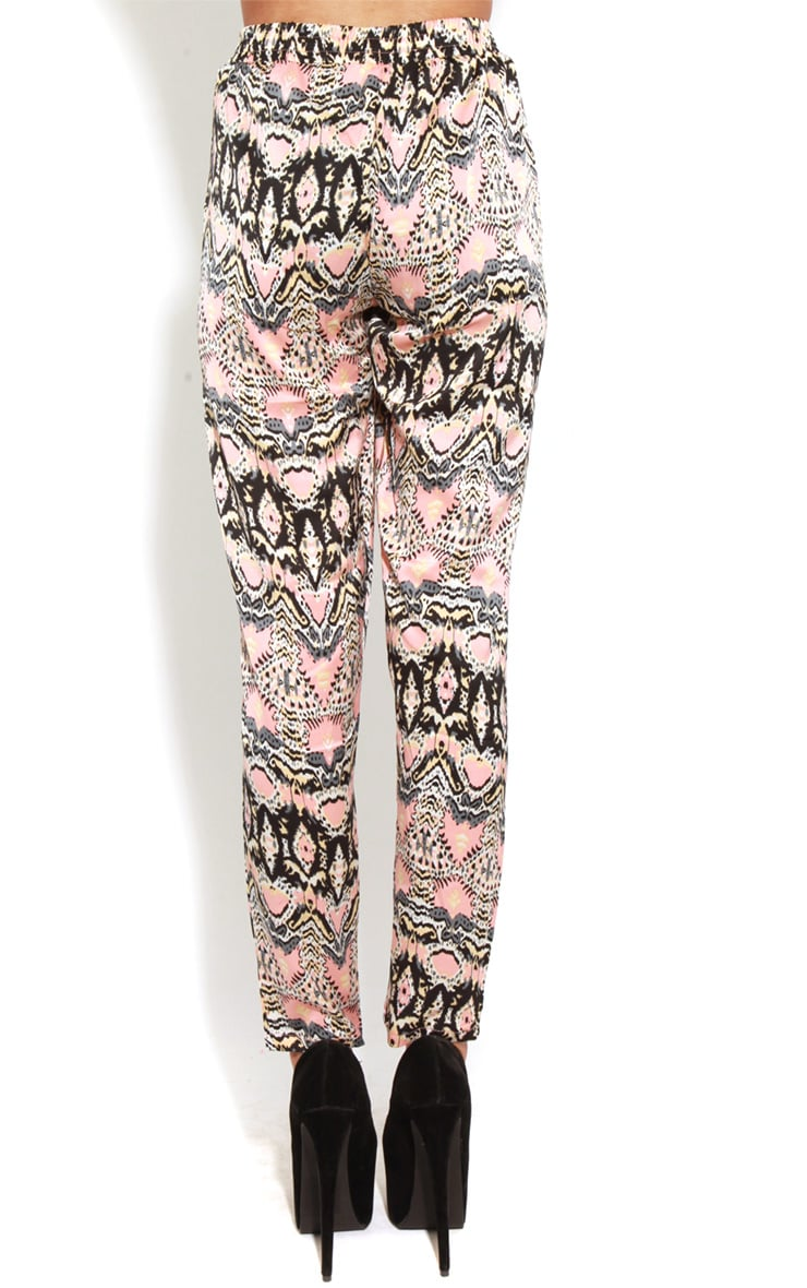 Adelyn Peach And Grey Luxe Joggers 2