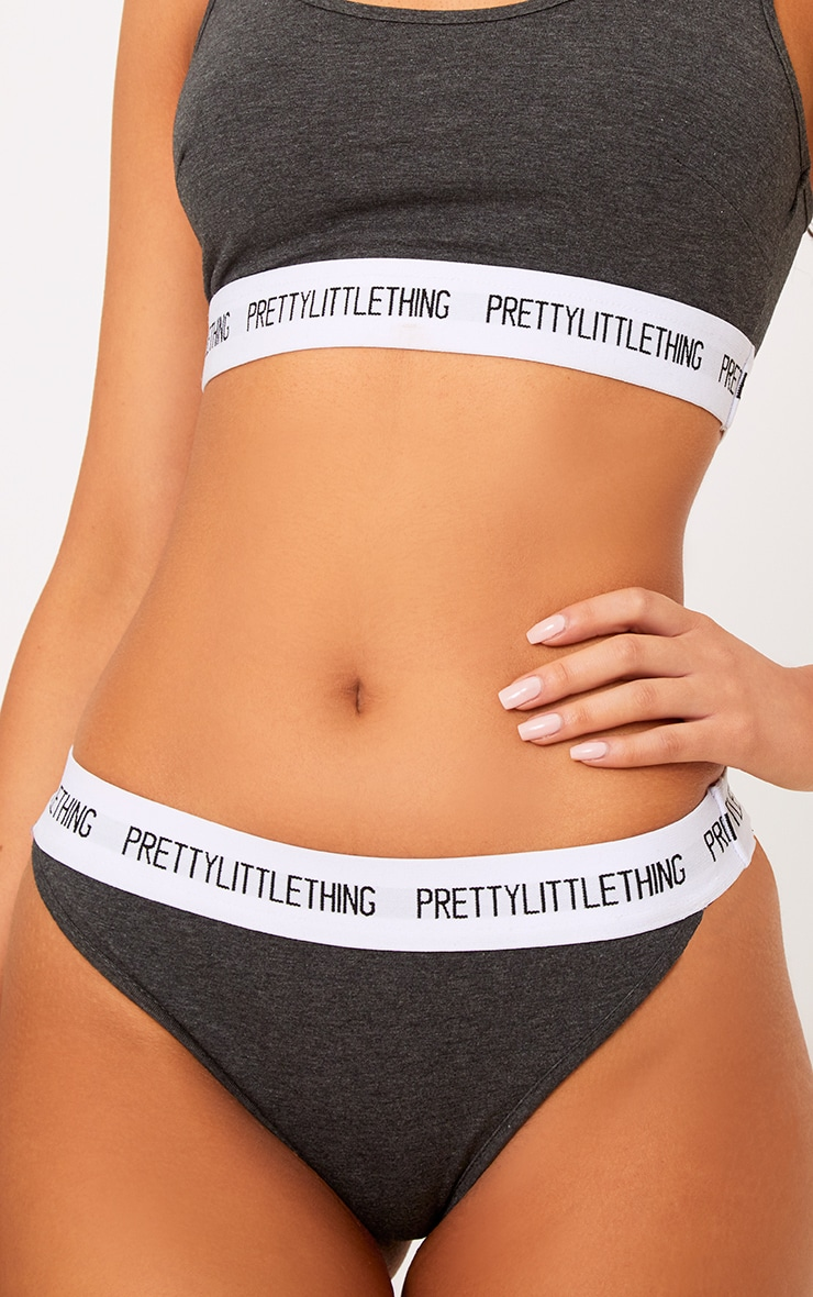 Culotte anthracite PRETTYLITTLETHING 6