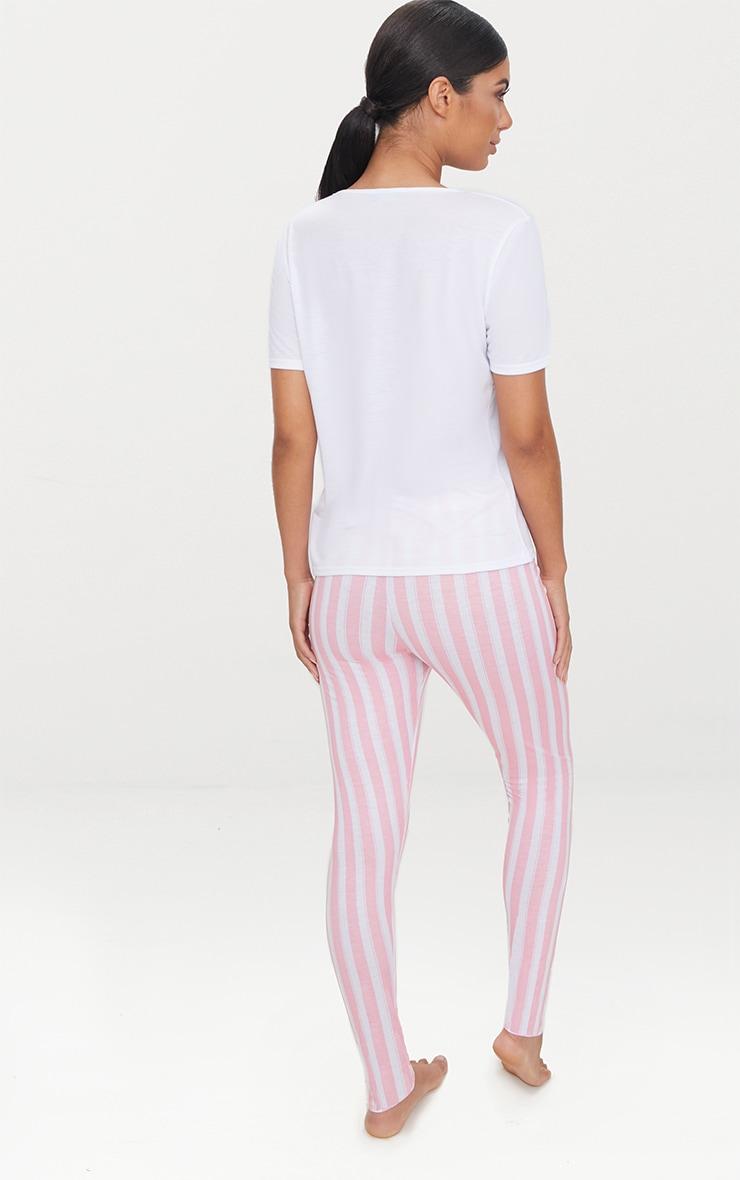 Pink You Go Glen Legging Pyjama Set 2