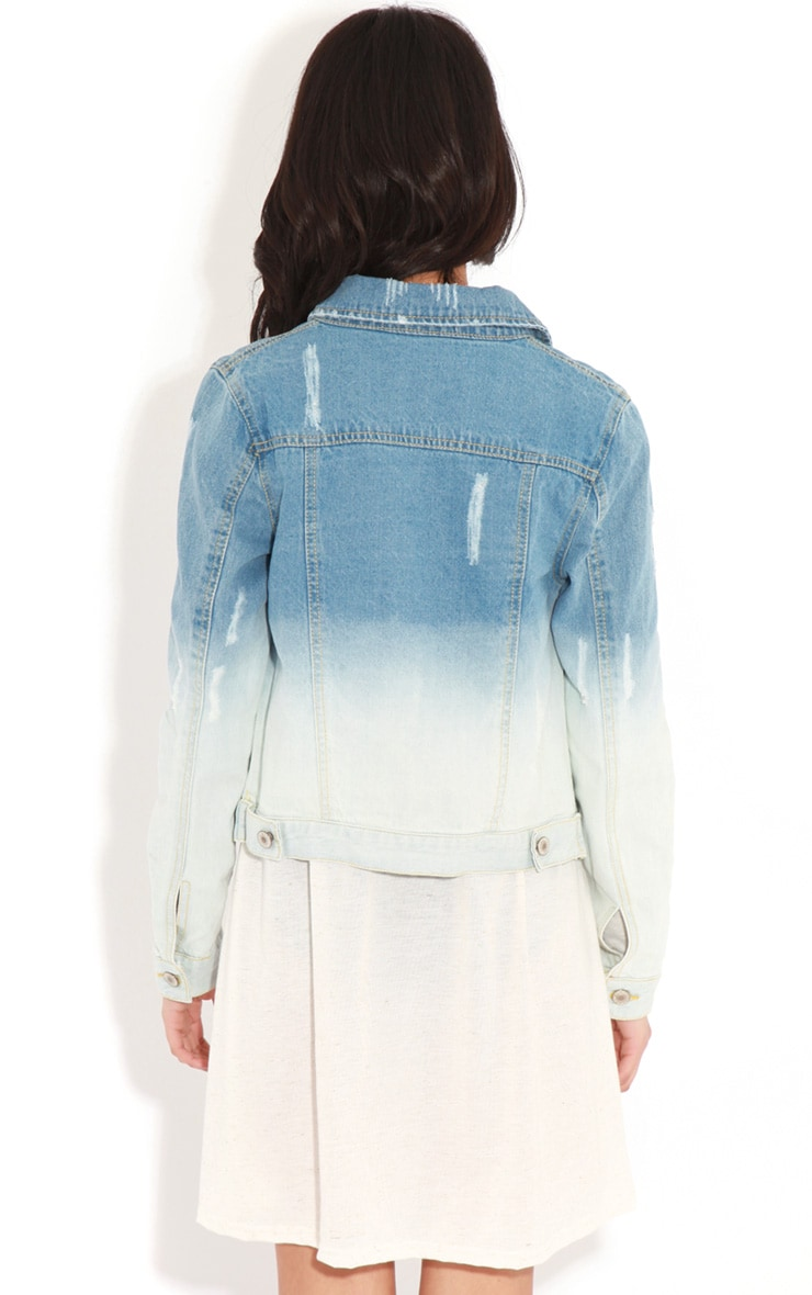 Rebecca Faded Denim Jacket 2