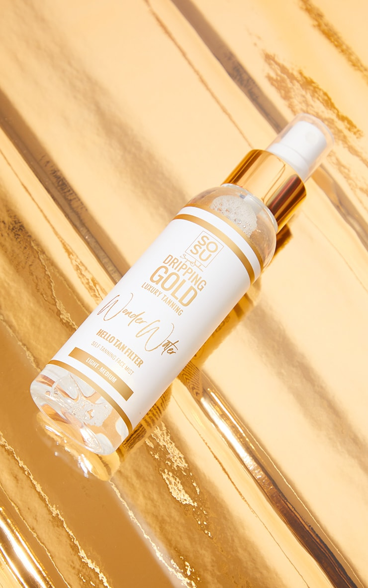SOSU Dripping Gold Wonder Water Tanning Mist Light-Medium 100ml 1