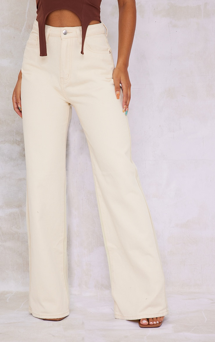 Stone Two Tone 90S Wide Leg Baggy Jeans 2