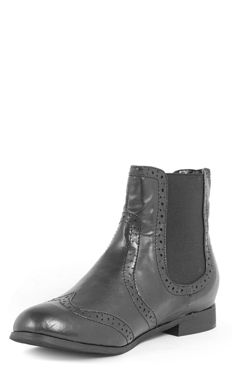 Glenna Black Chelsea Boot  4