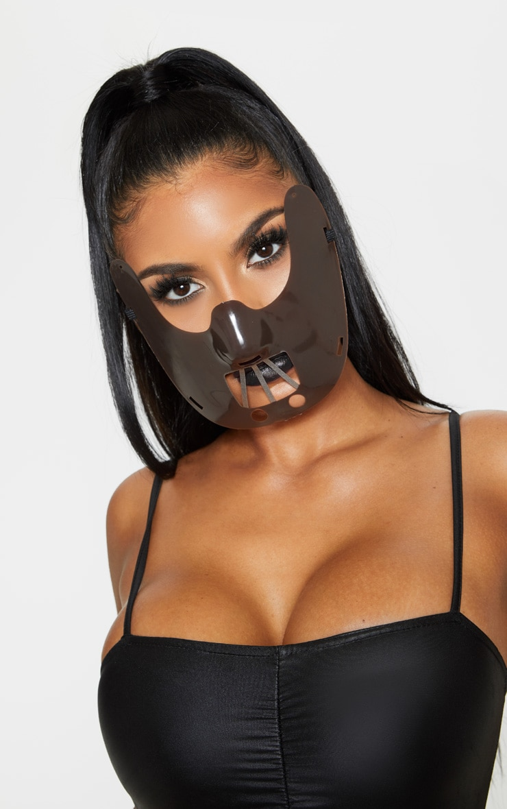 Brown Cannibal Halloween Mask  1