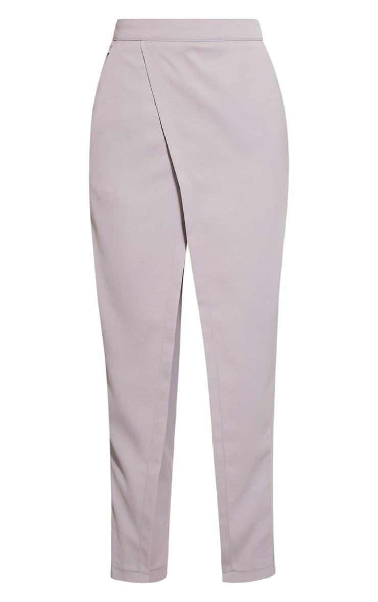 Rachel Grey Cross Front Trousers 3