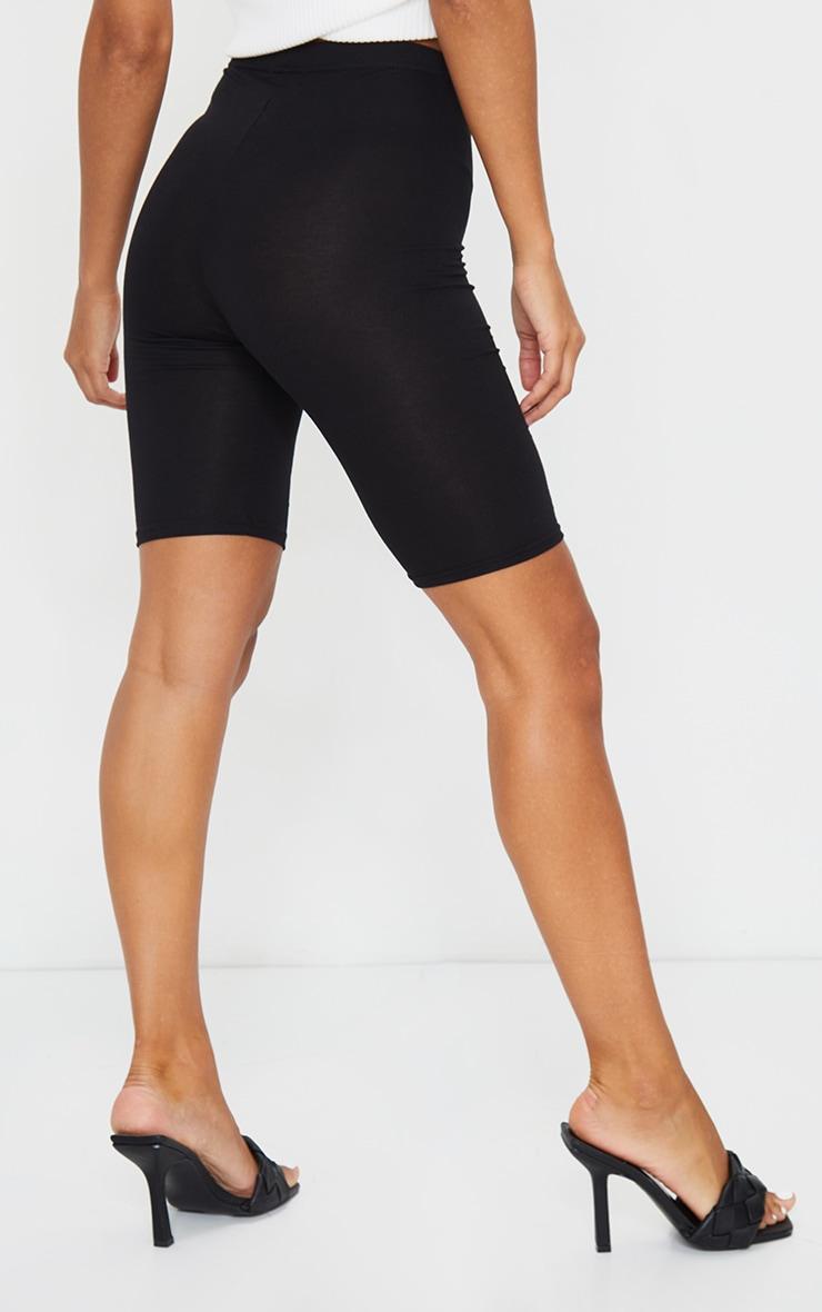 Short cycliste basique noir 3