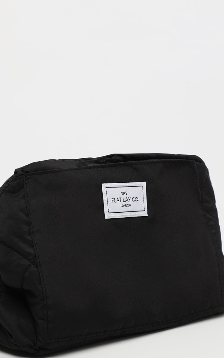 The Flat Lay co. Makeup Bag Classic Black 3