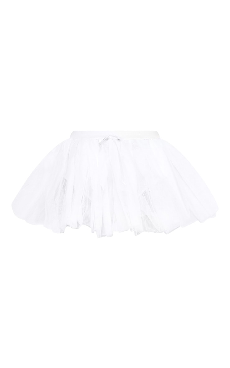 White Basic TuTu Skirt 3