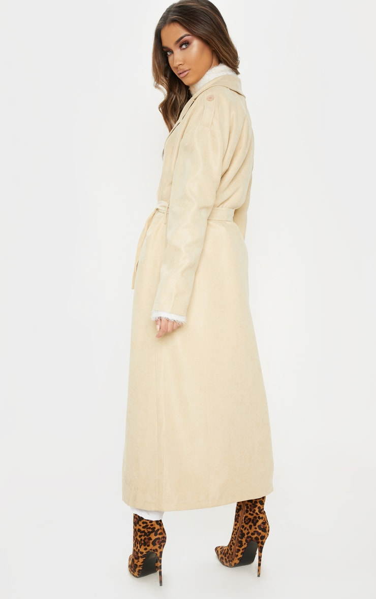 Stone Cord Belted Trench 2