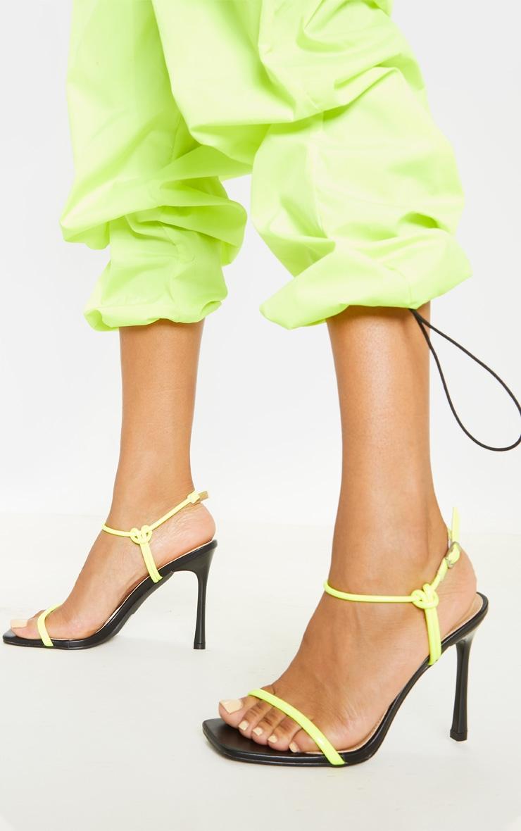 5ebc0bf18d9 Clover Black Velvet High Heels | Shoes | PrettyLittleThing IE