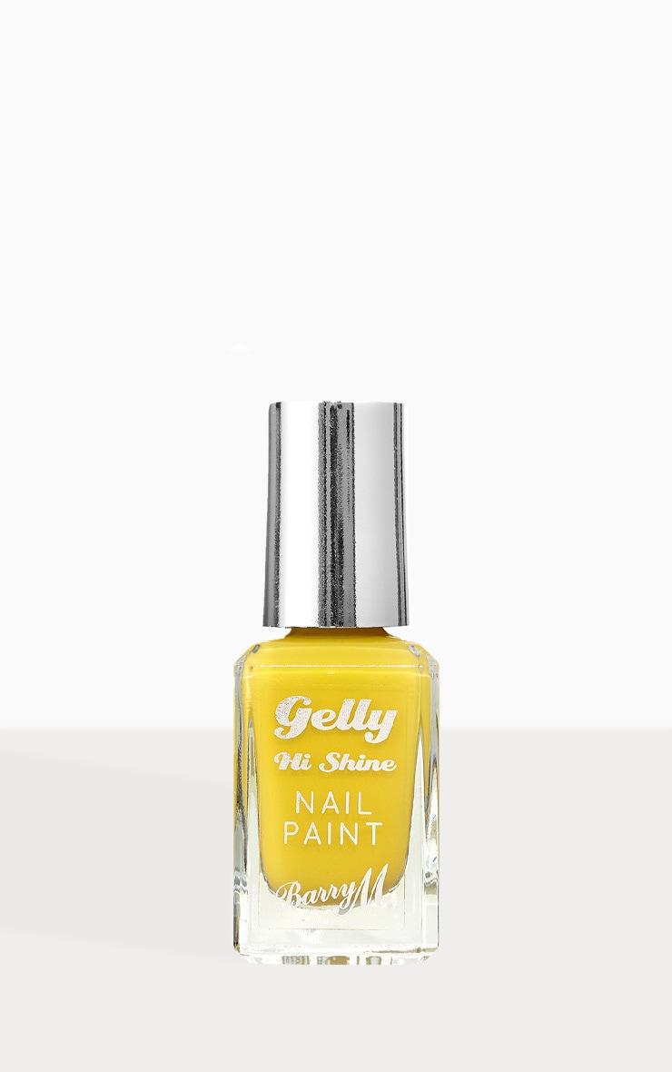 Barry M Gelly Hi Shine Nail Paint Banana Split 1