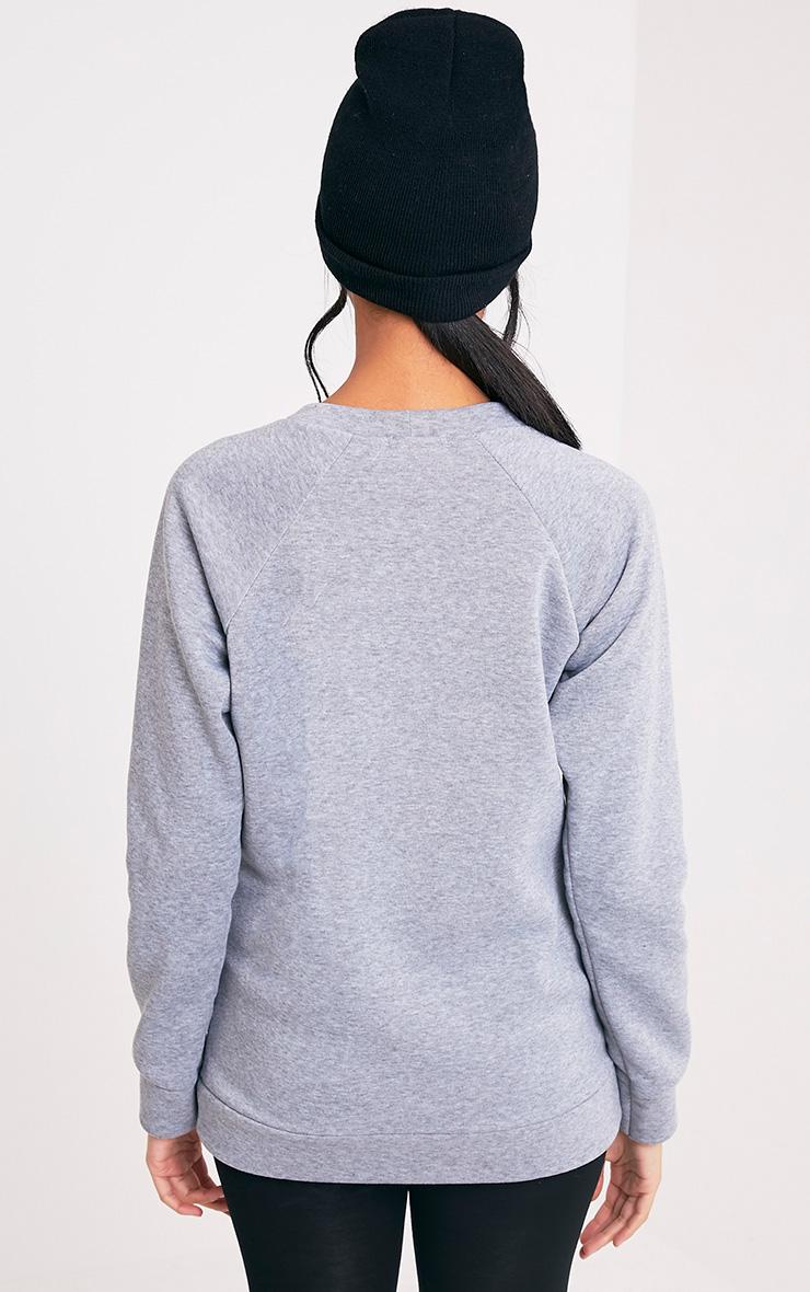 Elf Grey Christmas Sweater 2