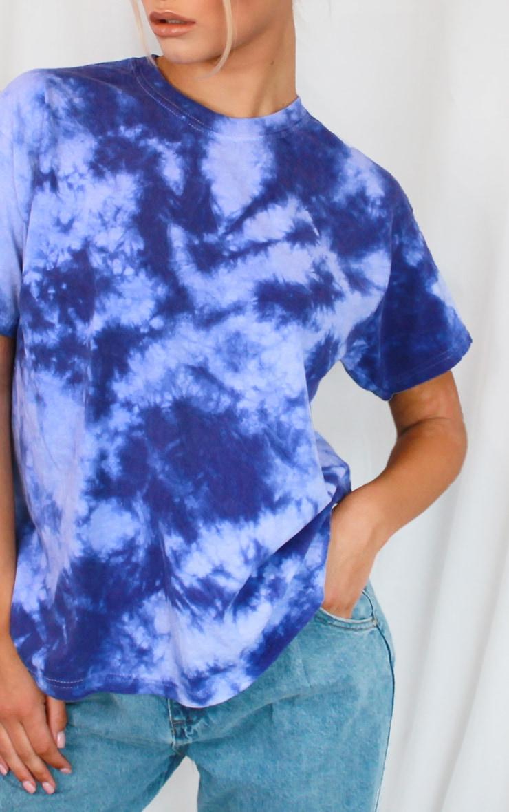 Purple Tie Dye T Shirt 4