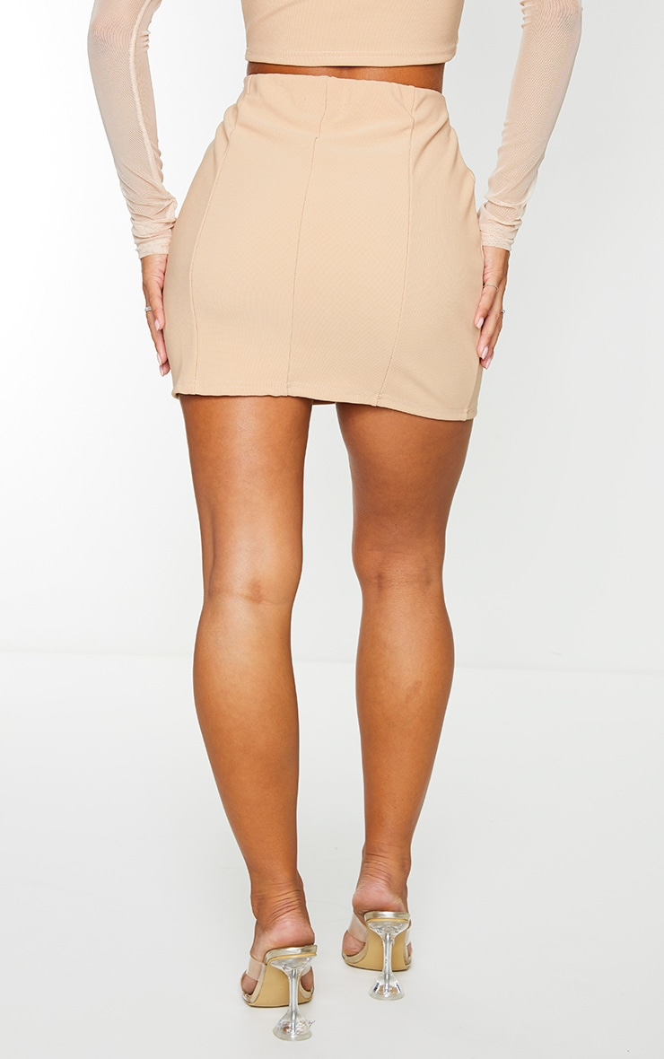 Stone Mini Bandage Skirt 3