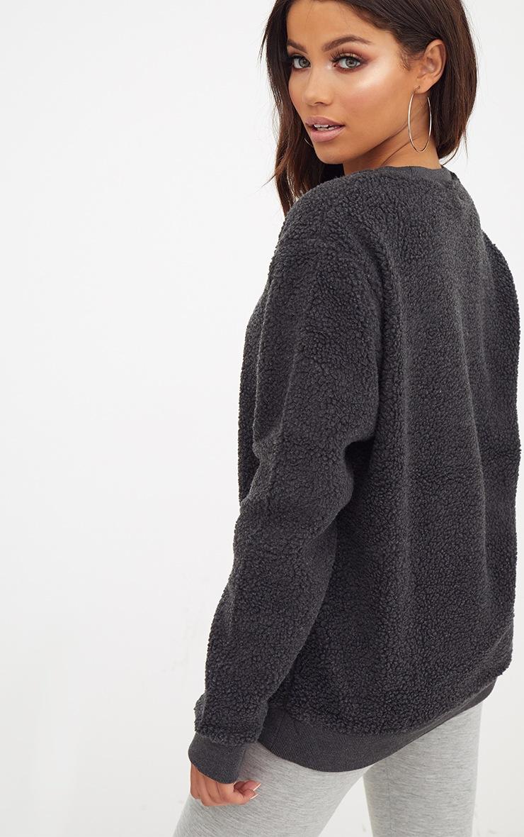 Charcoal Borg Sweater 2