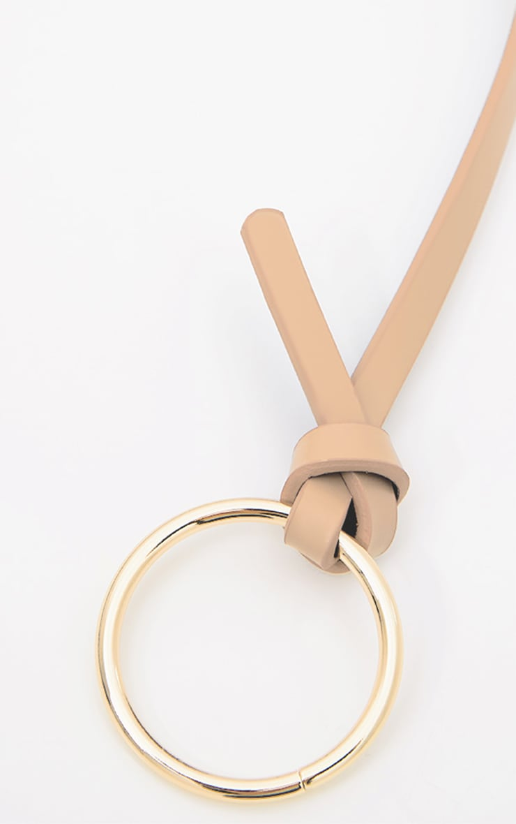 Nude Centre Circle Belt 4