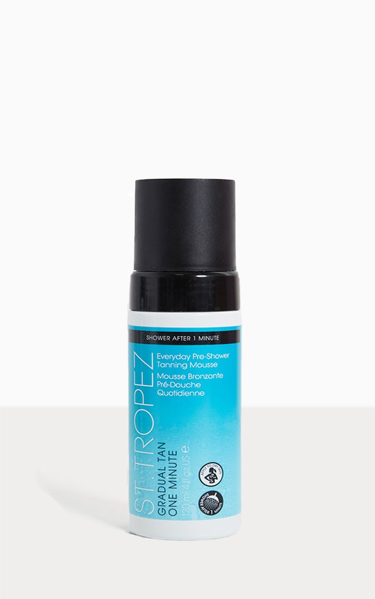 St. Tropez 1 Minute Pre Shower Tanning Mousse 1