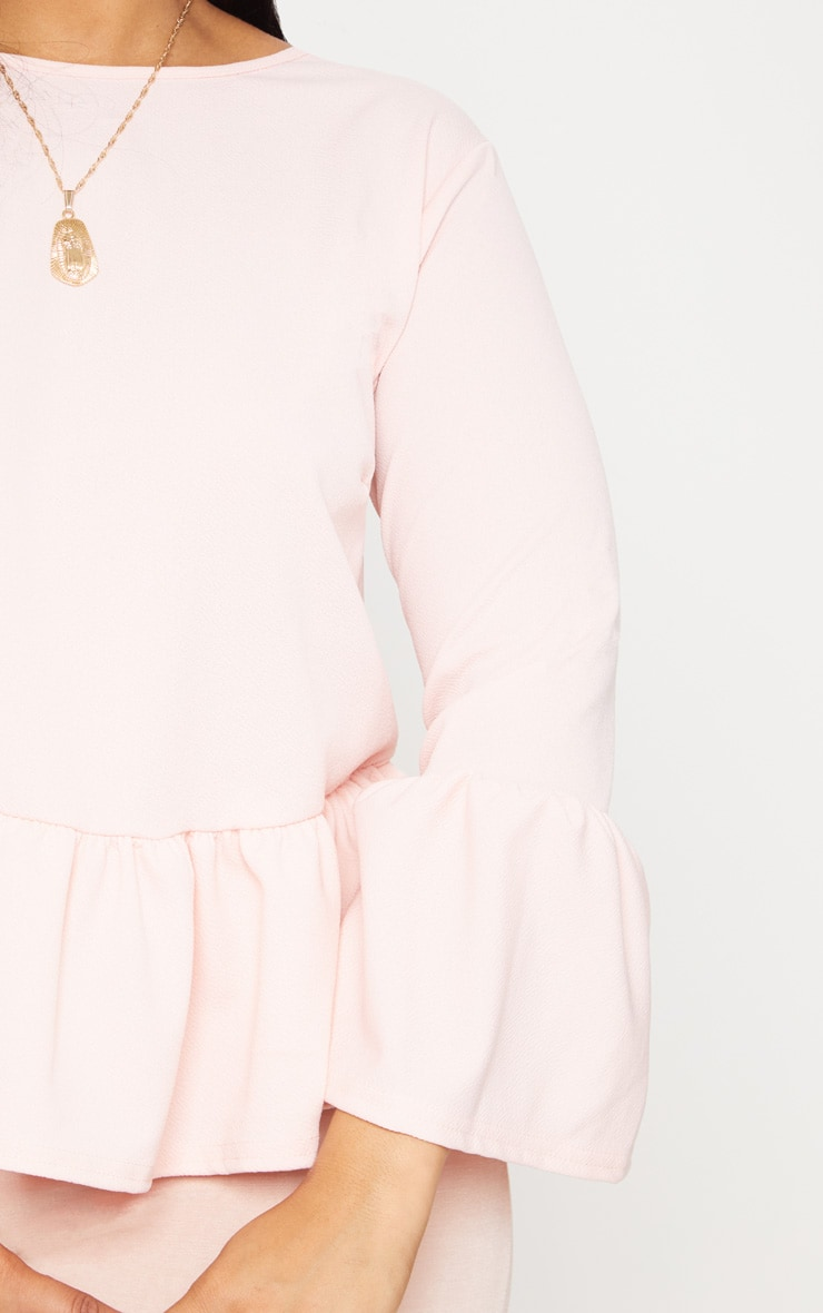 Plus Blush Frill Sleeve Top 5